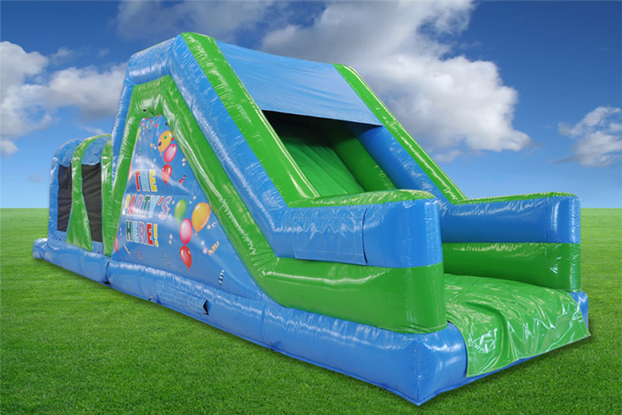 Large Fun Run Obstacle rear