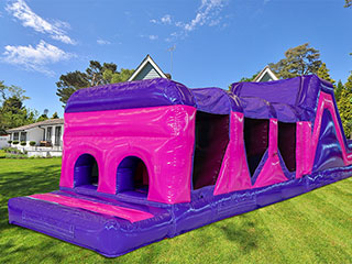 Click for 42ft Princess Rush Obstacle OBR04